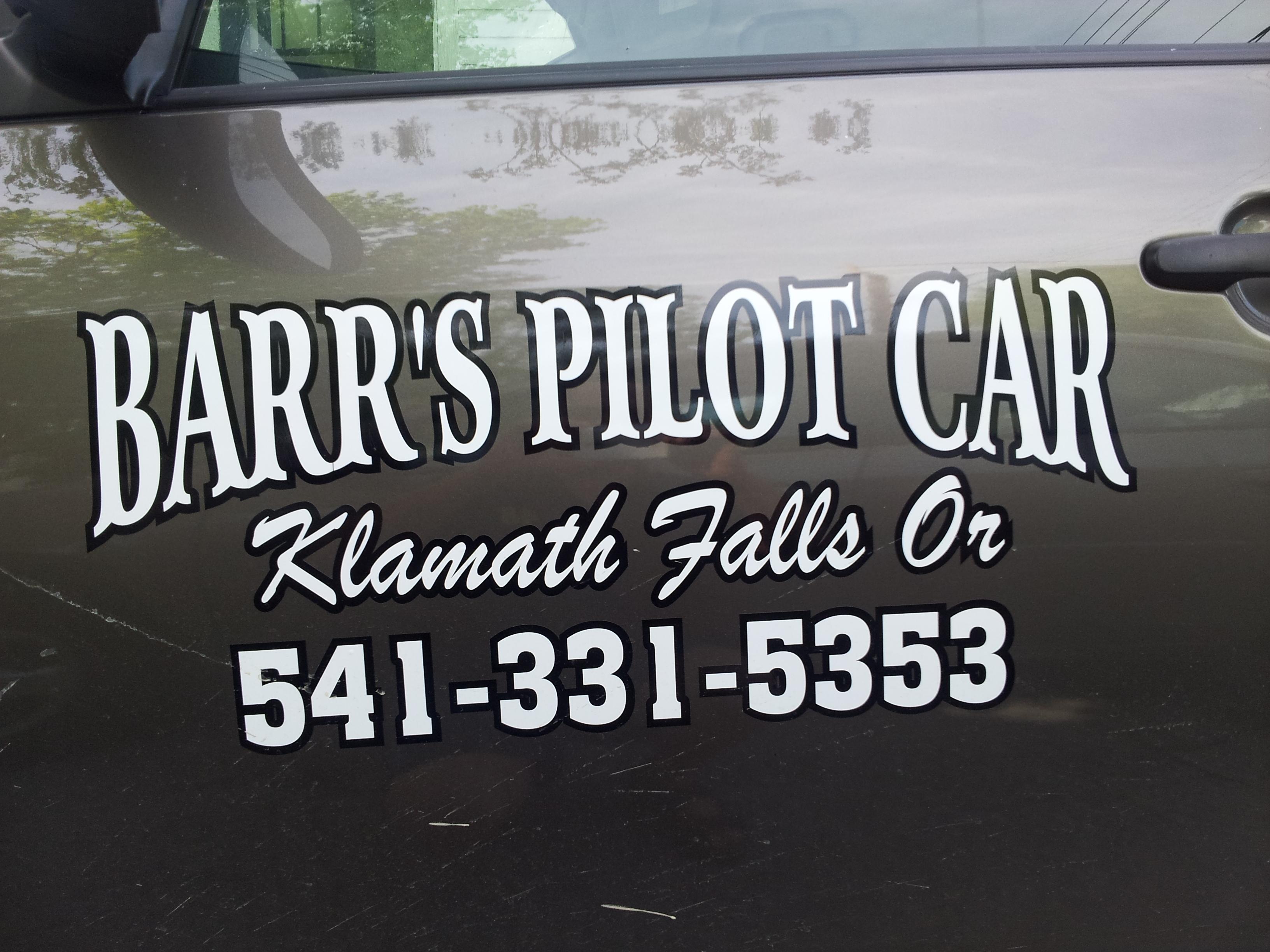 Barr's Pilot Car