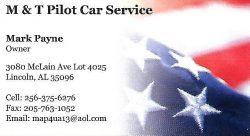 M&T Pilot Car Service
